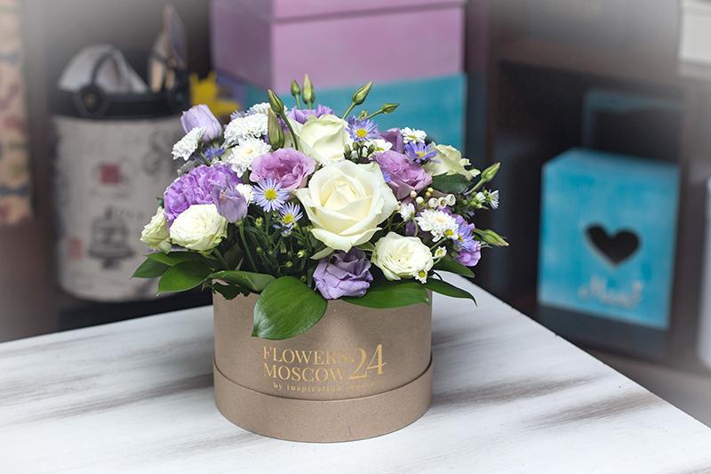 Цветы в коробке краснодар цена, цветов заказ минводам
